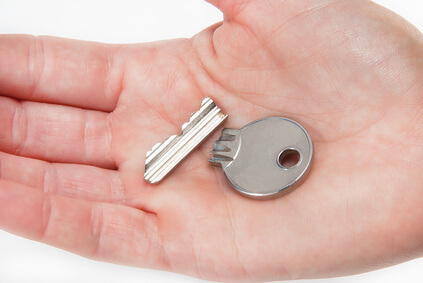 Zerbrochener Schlüssel